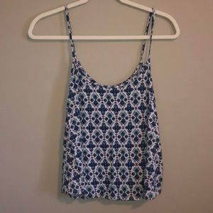 AEO Patterned Tank Top
